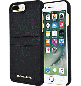 a46c463b542a5c Michael Kors Saffiano Leather Pocket Case for iPhone 7 Plus Colour Black